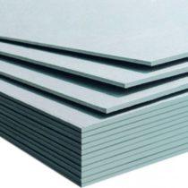 Гипсокартонный лист влагостойкий (ГКЛВ) 12,5 мм, 2500*1200 мм, Кнауф (Knauf)