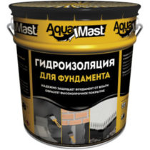 Мастика битумная Аквамаст (AQUAMAST), 18 кг