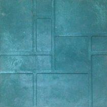 Плитка полимерпесчаная зеленая 330*330*20мм, кв.м