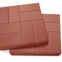 Плитка полимерпесчаная красная 330*330*20мм, кв.м